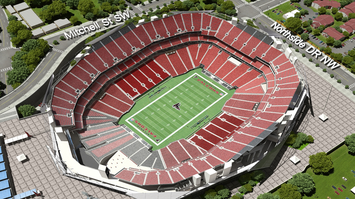 Atlanta Falcons Virtual Venue By Iomedia